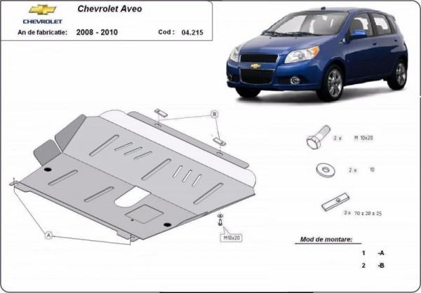 Stalowa osłona silnika Chevrolet Aveo - (2008-2011)