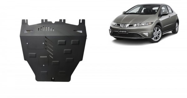 Stalowa Osłona pod silnik Honda Civic (hayon) - (2005-2015)