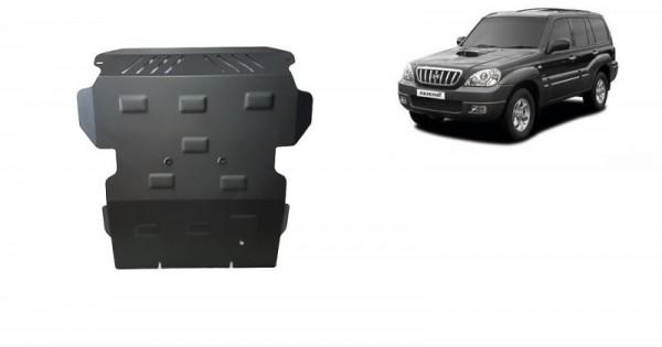 Stalowa Osłona pod silnik Hyundai Terracan - (2001-2007)