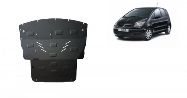 Stalowa Osłona pod silnik Mitsubishi Colt - (2004-2019)