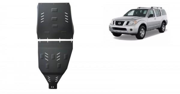 Stalowa Osłona skrzyni biegów i reduktora Nissan Pathfinder - (2005-2019)