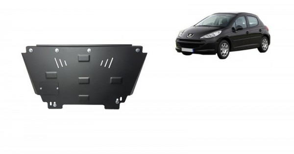 Stalowa Osłona pod silnik Peugeot 207 - (2006-2019)