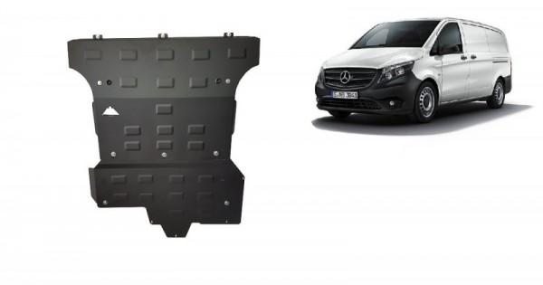 Stalowa Osłona pod silnik Mercedes Viano W447, 2.2 D, 4x4 - (2014-2019)