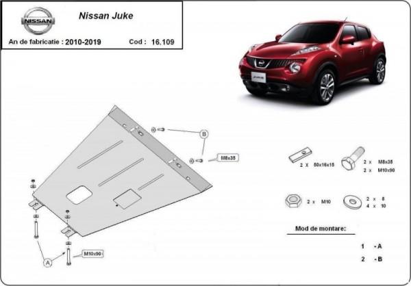 Stalowa osłona silnika Nissan Juke (2010-2019)